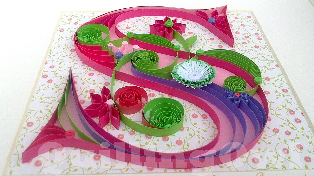 Saoirse , paper quilling