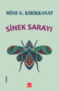My beautiful Saray, the queen fly, featuring on the cover of the novel 'Sinek Sarayi' written by the Turkish writer Mine G. Kirikkanat