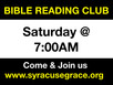 Bible Reading Club & Gospel Busking
