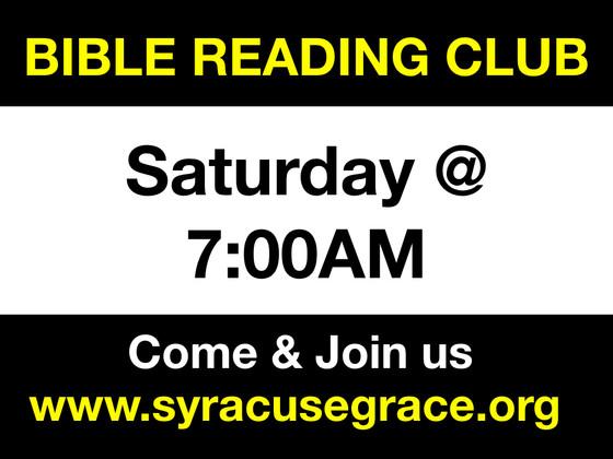 Bible Reading Club & Gospel Busking