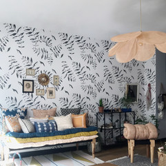 papier-peint-vegetal-noir-et-blanc-feuil
