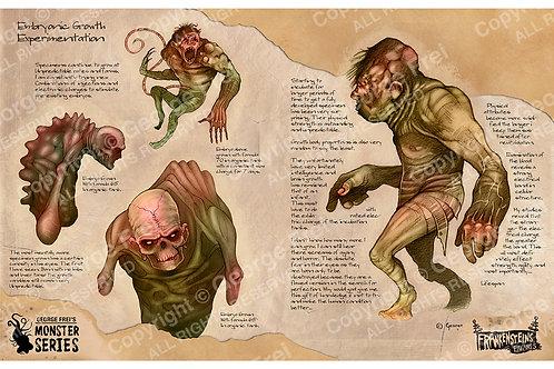 Frankenstein's Failures Embryo Growth