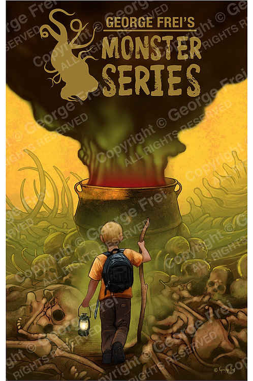 Monster Series Cover