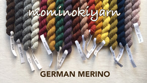 mominokiyarn GERMAN MERINO受注販売