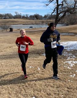 2018 Reindeer Run martha and ray