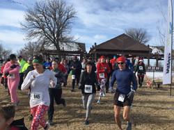 2018 Reindeer Run start picture