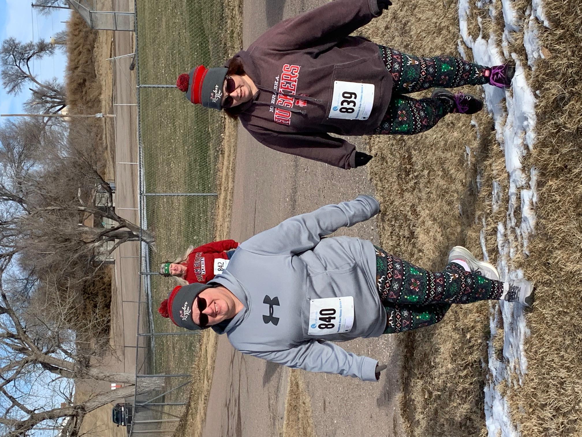 2018 Reindeer Run.amanda and beth