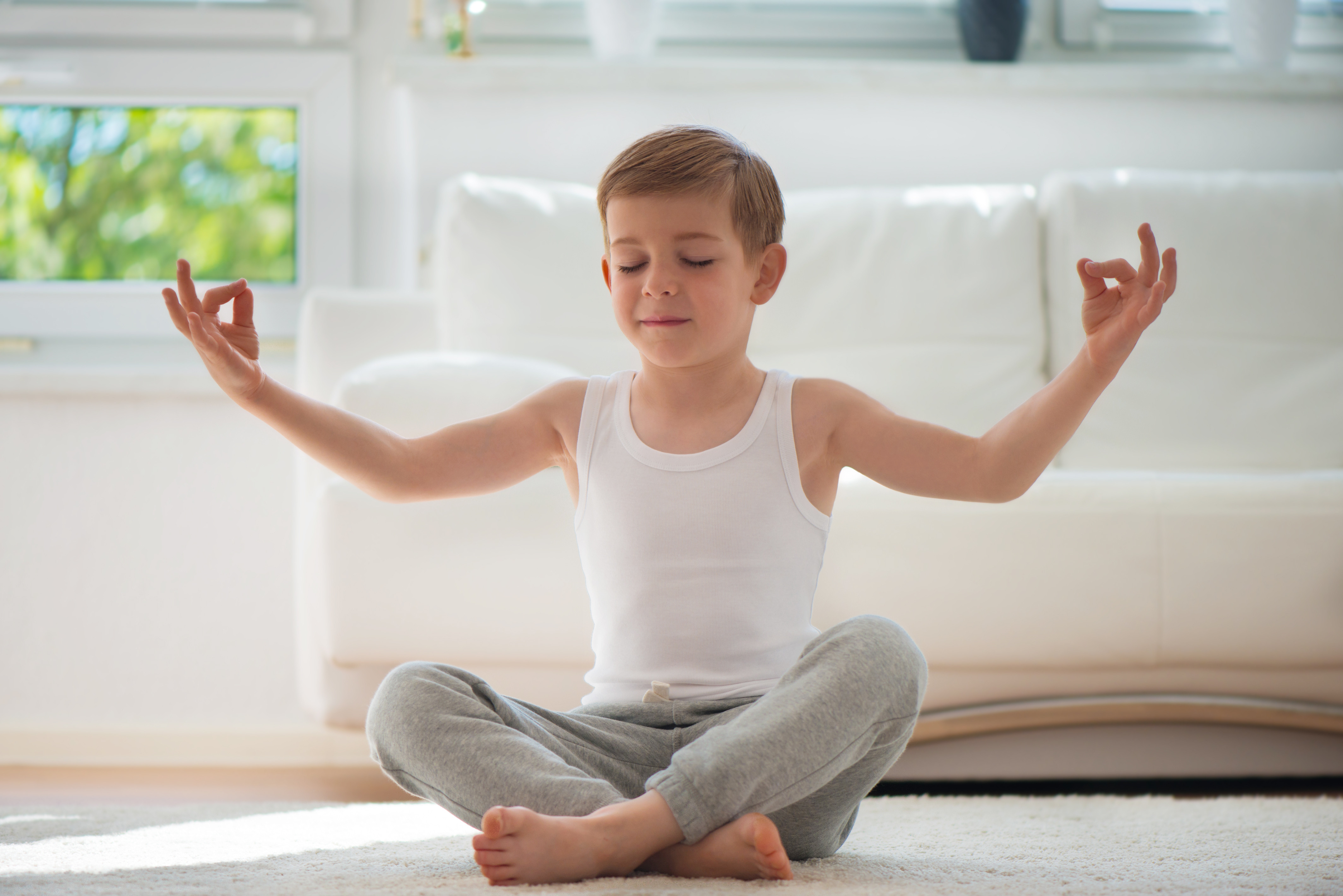 Kids Yoga 4-8 for  Year Olds
