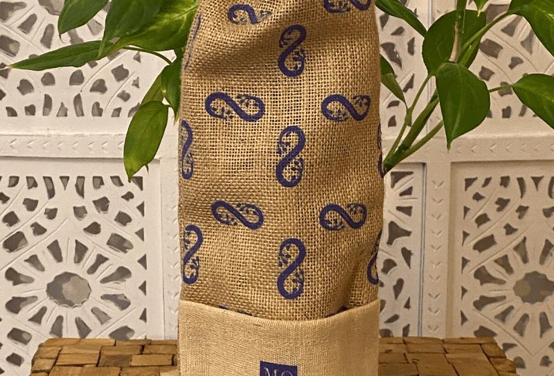 Elegant Ecological Jute Wine Gift Bag (38 * 15 cm)