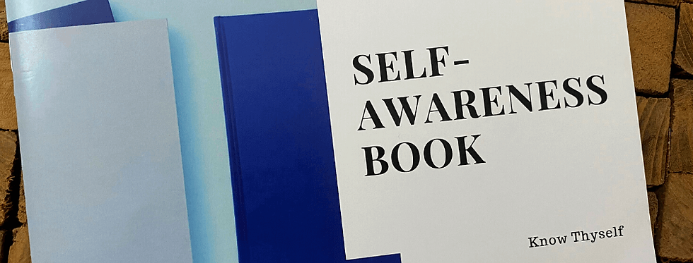 Self Awareness Book - Exercise Based Workbook for Connecting with Inner Self