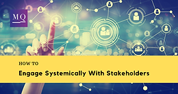 Online: How to Engage Systemically with Stakeholders