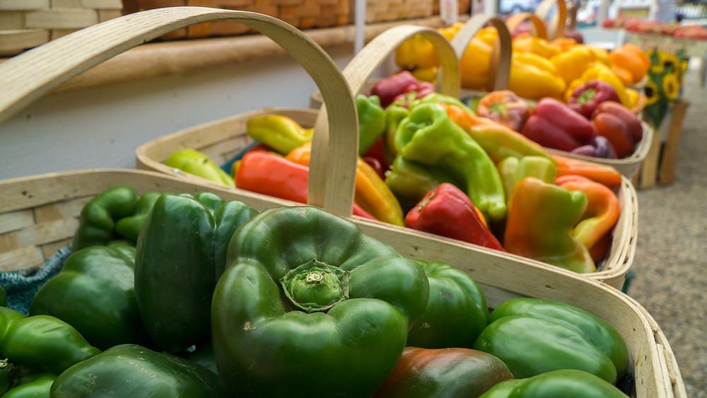 Alexandria Farmers' Market Vegetables