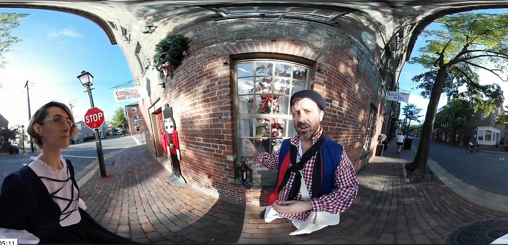 Christmas Attic Ghost Tour Video Alexandria VA