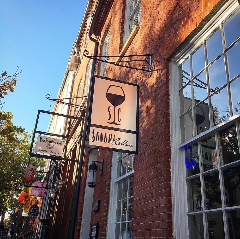 Storefront Sonoma Cellar Alexandria, Virginia