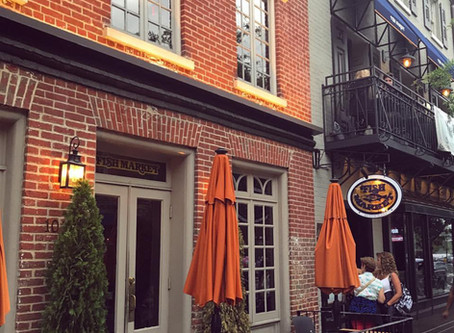 The Fish Market & Anchor Bar in Old Town Alexandria!
