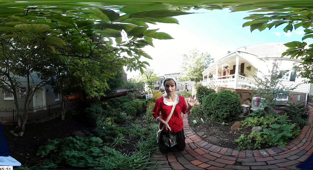 Watch an Alexandria Ghost Tour in 360 degree virtual reality