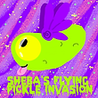 Sheba's Flying Pickle Invasion logo slim