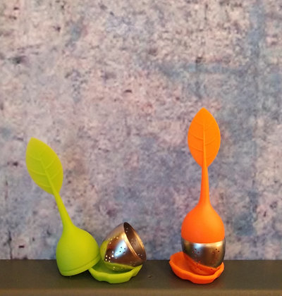 infuseur the feuille silicone
