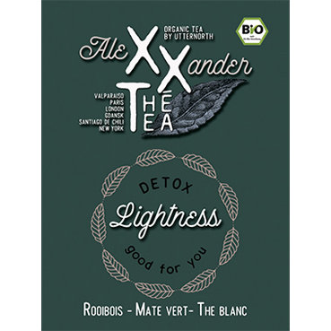 Lightness detox - Rooibos Mate vert The blanc