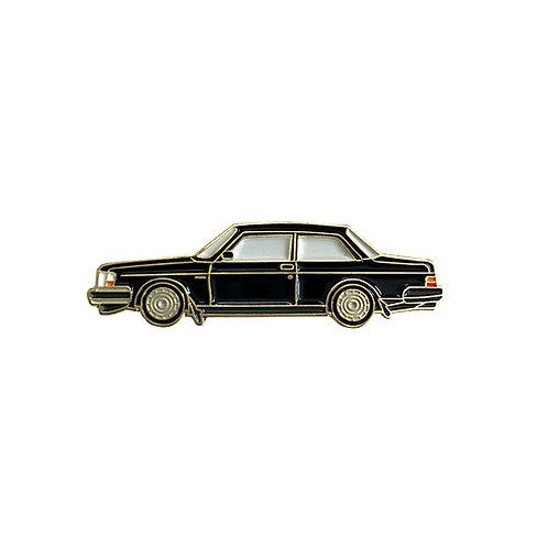 Volvo 240 enamel pin