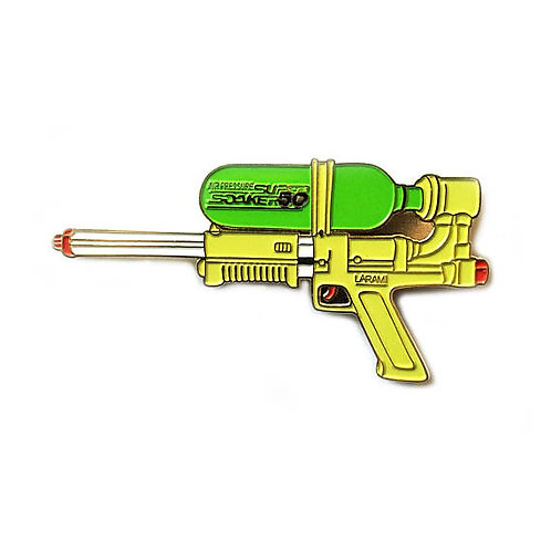 Super Soaker 50 enamel pin