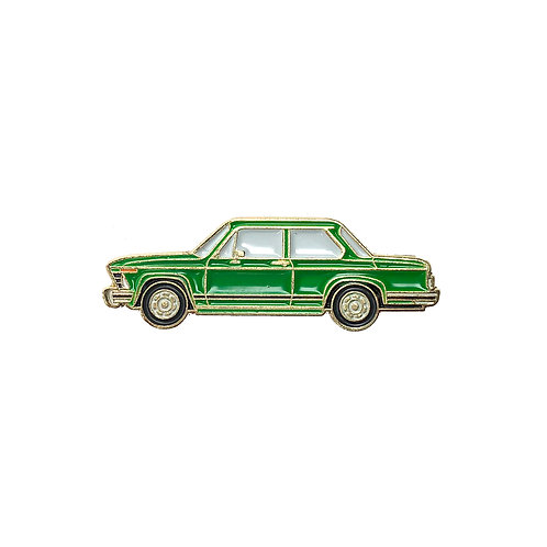 BMW 2002 Enamel Pin - Green