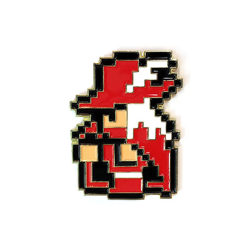Final Fantasy 1 NES Red Mage enamel pin