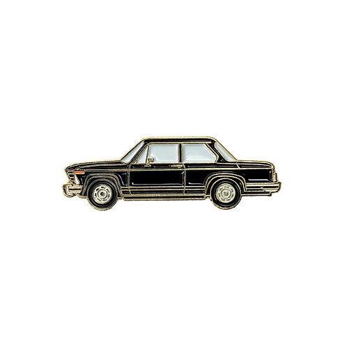 BMW 2002 Enamel Pin - Black