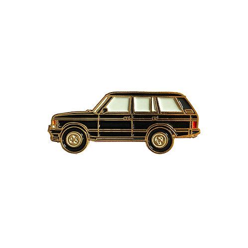 Range Rover Classic Enamel Pin - Black
