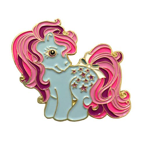 my little pony blue belle enamel pin