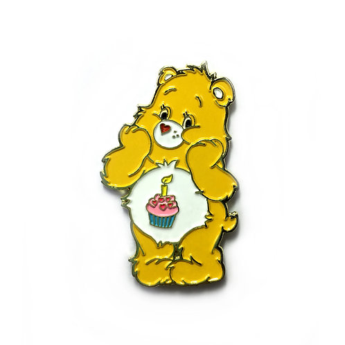 Care Bear Birthday Bear enamel pin