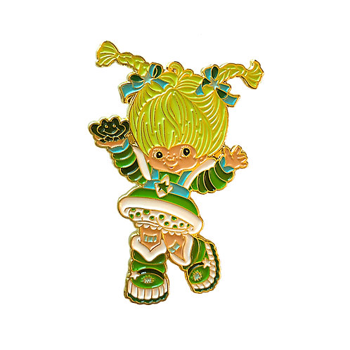 Rainbow Brite Patty O'Green enamel pin