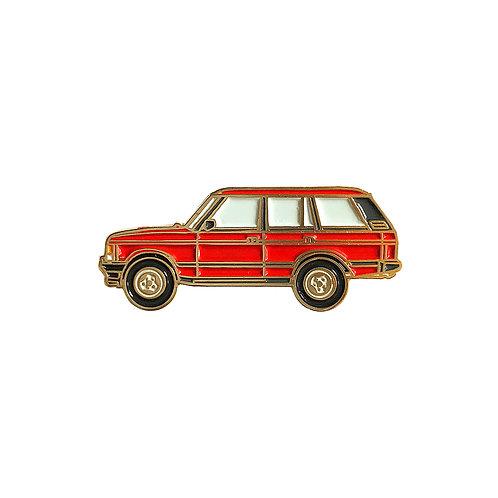 Range Rover Classic Enamel Pin - Red
