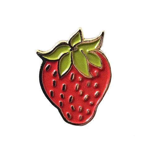 Strawberry Shortcake Strawberry enamel pin