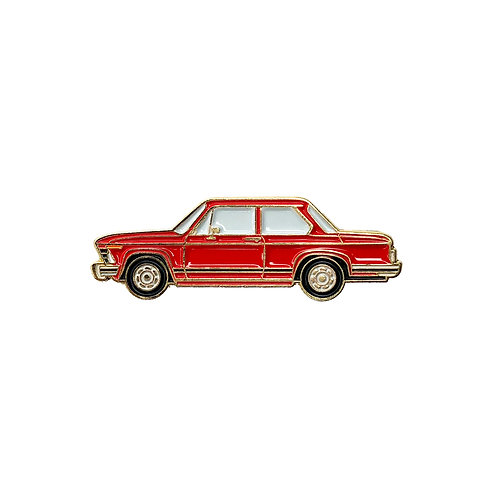 BMW 2002 Enamel Pin - Red