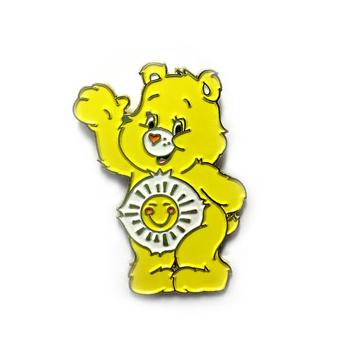 Care Bear Funshine Bear enamel pin