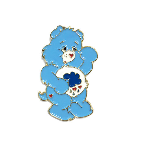 Care Bear Grumpy Bear enamel pin