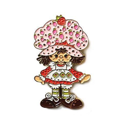 Strawberry Shortcake enamel pin