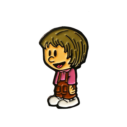 Calvin and Hobbes Susie enamel pin