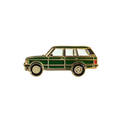 Range Rover Classic Enamel Pin - Green
