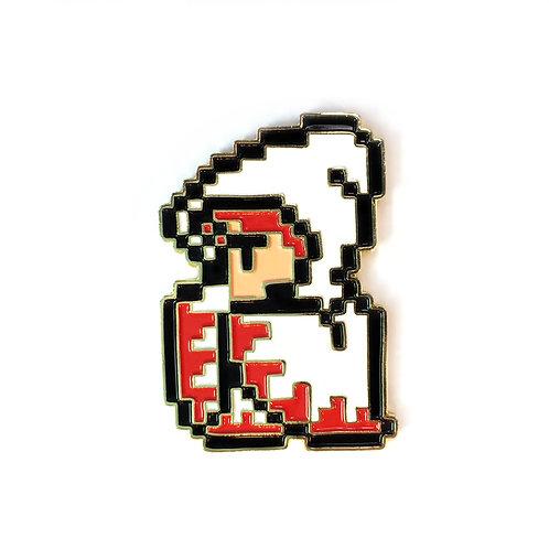 Final Fantasy 1 NES White Mage enamel pin