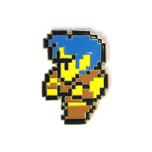 Final Fantasy 1 NES Thief enamel pin