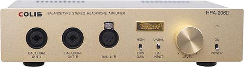 ヘッドフォン・アンプ「COLIS HPA-206Ⅱ」
