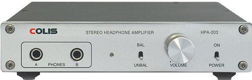 ヘッドフォン・アンプ「COLIS HPA-203」