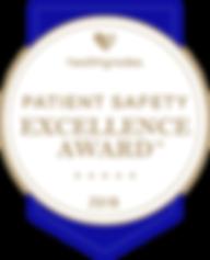 Healthgrades Charles Parrish award.png