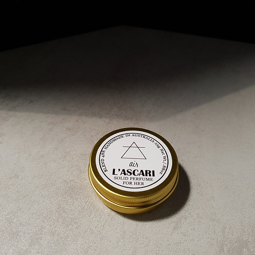 solid perfume. air
