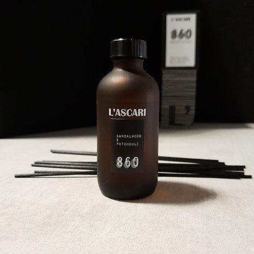 blend 860 diffuser. sandalwood, patchouli