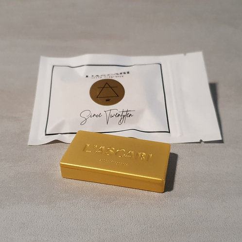 solid fragrance unisex. gold. air