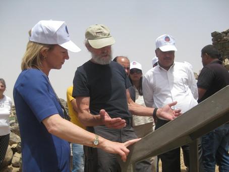 ACOR Director Participates in Special Visit to Umm al Jimal by U.S. Ambassador to Jordan