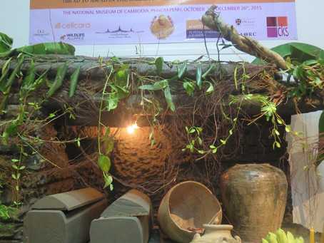 """""""Living in the Shadow of Angkor"""" - An Exhibition at the National Museum of Cambodia"""